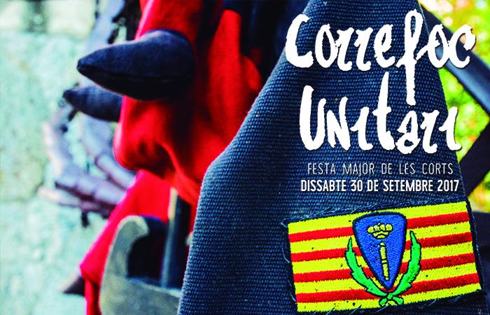 Correfoc Unitari de Festa Major de Les Corts @ Plaça Comas | Barcelona | Catalunya | Espanya