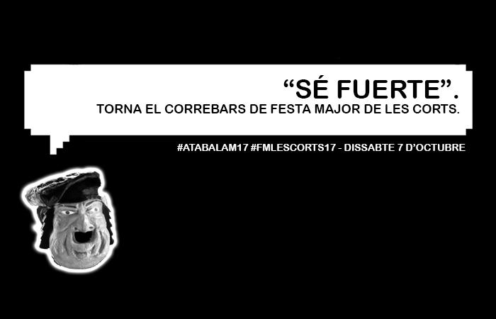 13è ATABALA'Mmmm! – Correbars de Festa Major de Les Corts 2017 @ Plaça Comas | Barcelona | Catalunya | Espanya