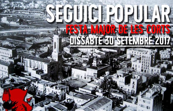 Seguici Popular de Festa Major de Les Corts @ Av. Diagonal amb Joan Güell | Barcelona | Catalunya | Espanya