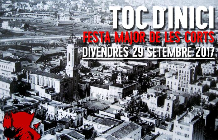Toc d'Inici de Festa Major de Les Corts @ Plaça Comas | Barcelona | Catalunya | Espanya